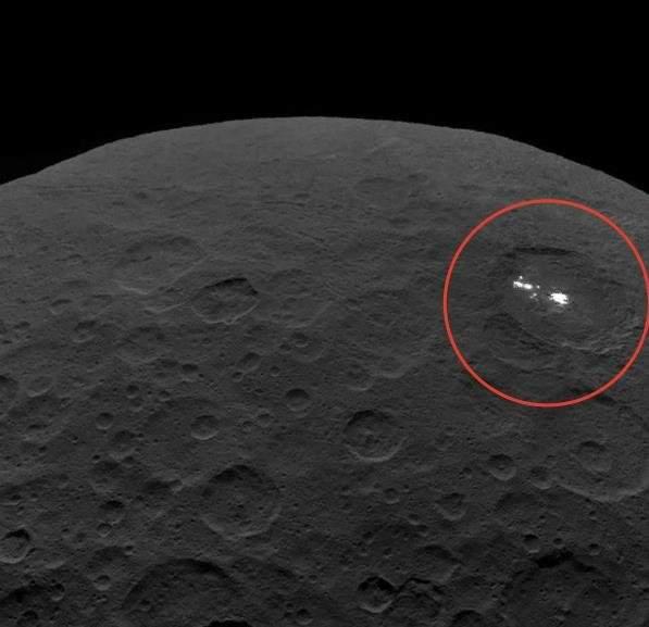На снимки NASA попал «город инопланетян»