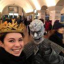 В киевском метро заметили «белых ходоков»: фото