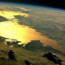 Известный украинец показал красочное фото Азовского моря, сделанное из космоса