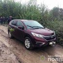 В Киеве угнали авто с полицейским в салоне