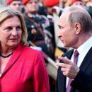 Помешала другая: Путин обидел «невесту» из Австрии