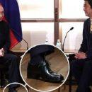На Лабутенах: в Сети подняли на смех высокие каблуки Путина