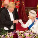 Трамп попал в новый конфуз с королевой Британии