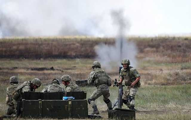 Появилось видео смертельного удара ВСУ по пулеметной точке боевиков