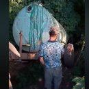 Игумения УПЦ МП приказала сливать нечистоты у мемориала погибшим украинским воинам
