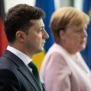 Меркель тряслась и дрожала на встрече с Зеленским (видео)