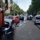 В масштабном ДТП в Одессе столкнулись семь автомобилей (видео)