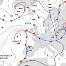 В Украину пришел холодный циклон