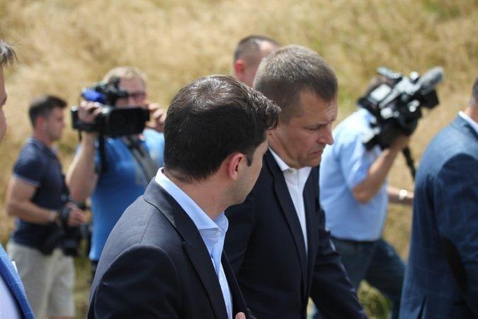 Визит Зеленского в Днепр в лицах и эмоциях