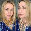 52-летняя актриса Ольга Сумская показала лицо без макияжа