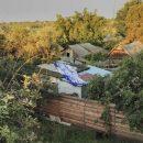 Харьковчанин оставил Зеленскому послание на крыше