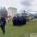 На округ, где проигрывает Пашинский, направили вертолет со спецназом