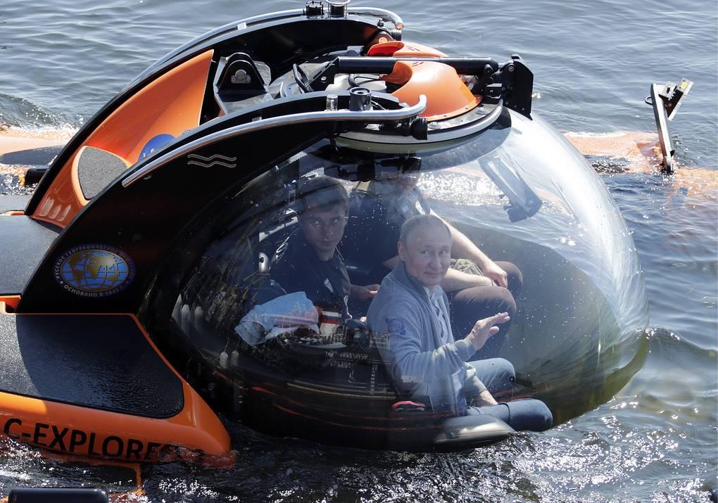 Неудачную попытку Путина сбежать из России подняли на смех в сети