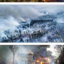 Огонь подбирается к Москве: появились новые фото и видео