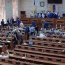 В Одесском облсовете произошла драка (видео)