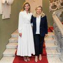 В сети обсуждают изысканный образ Елены Зеленской и ее первые фото после паузы в Instagram