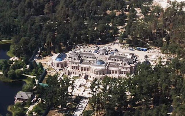 Появились новые фото роскошного дворца Ахметова под Киевом