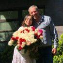 Вагітна Лілія Подкопаєва показала рідкісне фото з нареченим