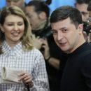 В Сети показали, как изменилась Елена Зеленская за последние 100 дней (фото)