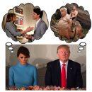 Мечтает о Путине: поцелуй Мелании Трамп и Джастина Трюдо высмеяли новым мемом