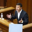 Зеленский нецензурно выругался в Раде: момент попал на видео