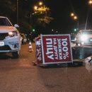 В Киеве таксист сбил курьера пиццерии