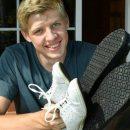 16-летний подросток попал в книгу рекордов Гиннесса с 57 размером обуви (фото)