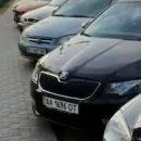 В Киеве облили кислотой около 30 припаркованных автомобилей