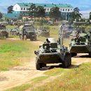 На границе Беларуси с Украиной заметили странную концентрацию военной техники (видео)