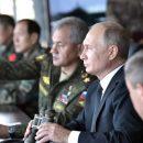 В России Путин лично руководил военными учениями
