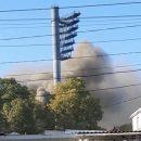 В оккупированном Крыму вспыхнул мощный пожар: опубликованы фото и видео