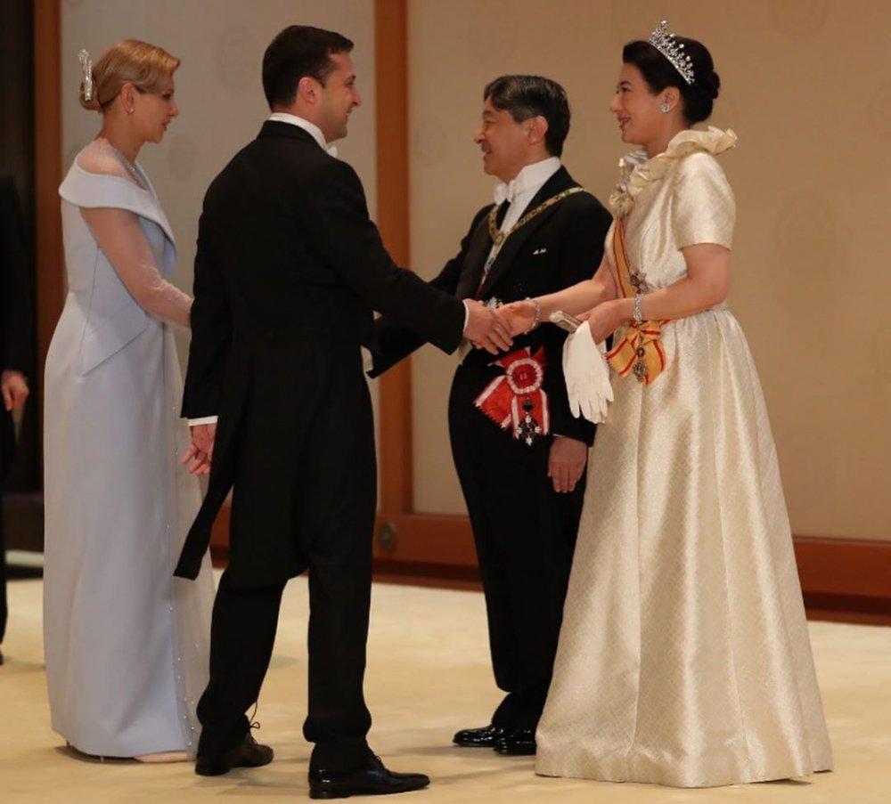 Перша леді України та імператриця Японії — показали спільні фото