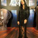 У чорній мереживній сукні: Катерина Осадча приміряла образ брюнетки