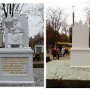 «Купили на Аліекспрес»: У мережі глузують над новим пам'ятником у Сумах