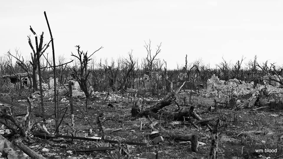 Километры выжженной земли: волонтеры показали фото «русского мира» на Донбассе