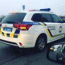 В сети показали автомобиль украинской полиции с козырным номером