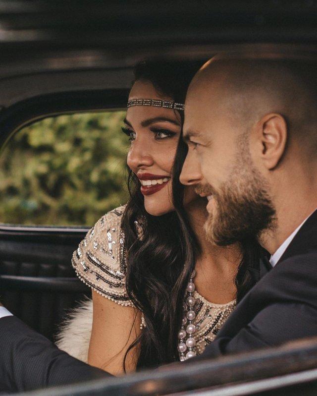 Ефектна парочка: Влад Яма з дружиною Ліліаною знявся в гламурній фотосесії