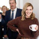 Елена Зеленская в рабочей командировке поразила своим модным повседневным образом