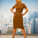 Лилия Ребрик подчеркнула идеальную фигуру эффектным платьем украинского бренда