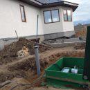 Проведение автономной канализации на территории частного дома