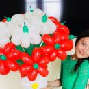 Букети квітів з повітряних кульок