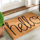 Лучшие придверные коврики для вашего комфорта